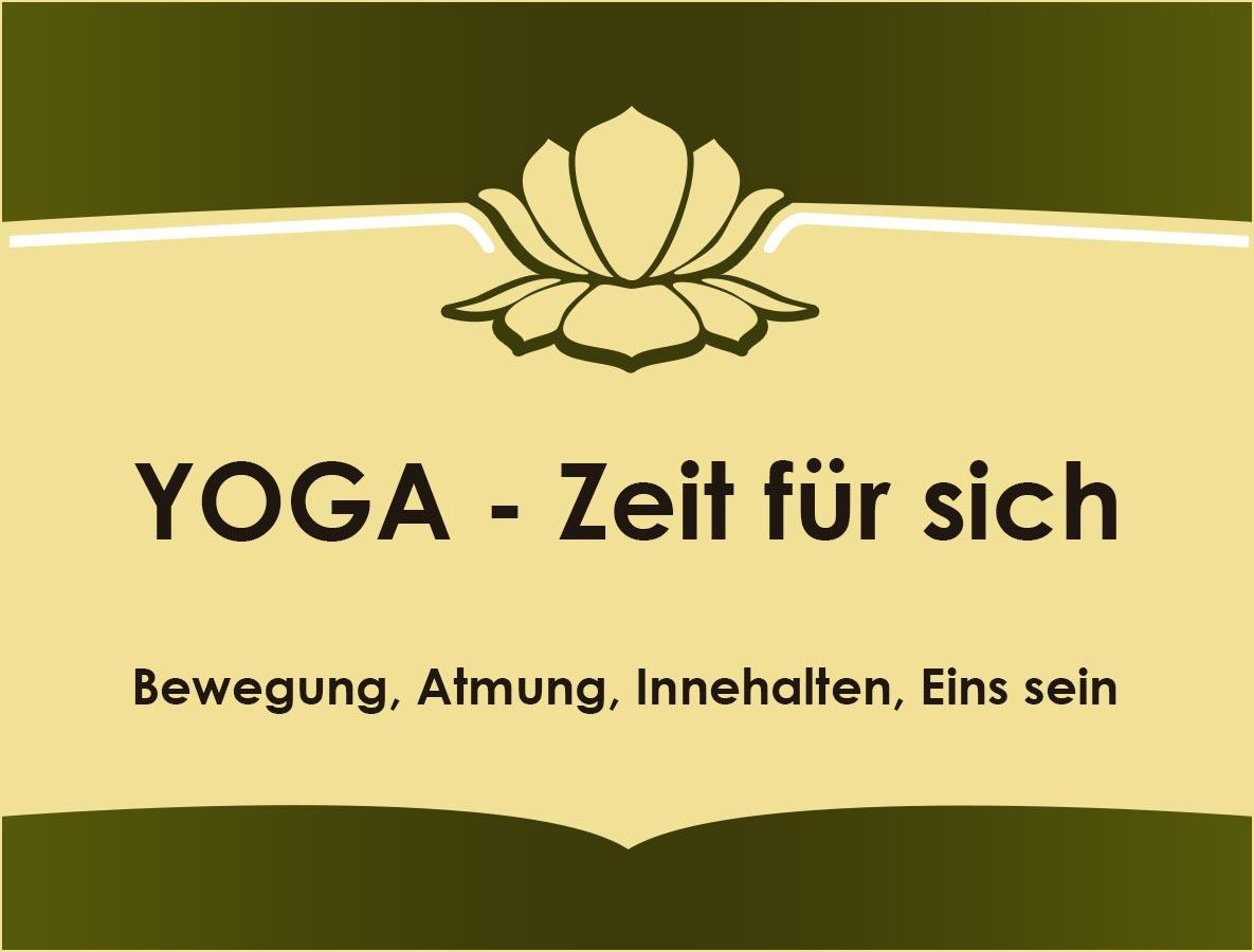 yoga zeit für sich individuell Einzelunterricht