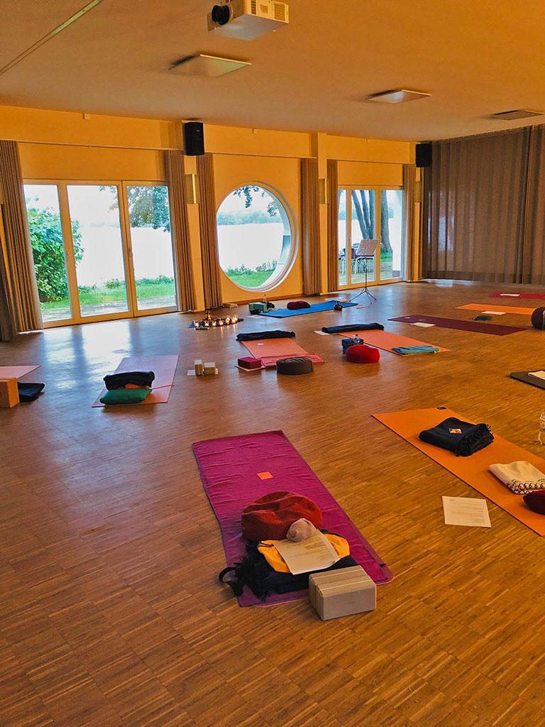 Lychensee Yoga-Raum